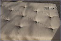 DIY : De la palette en bois à la table Ottoman Chesterfield.