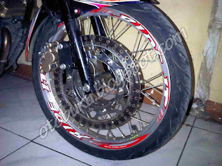 Velg Ride It Silver Tapak Lebar