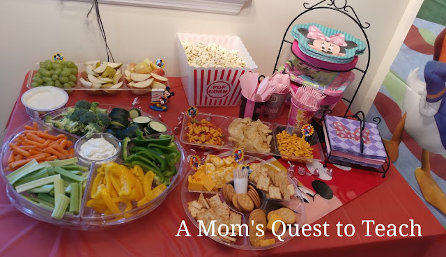 food for a Minnie Mouse party