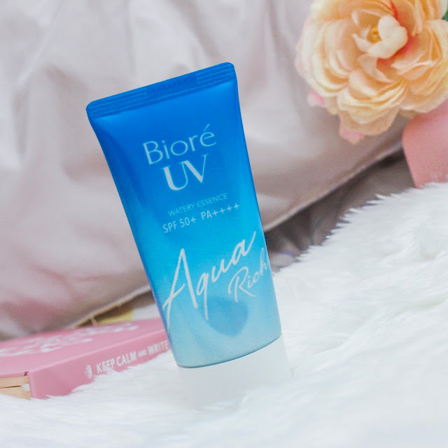 Bíore Aqua Rich UV Watery Essence Review