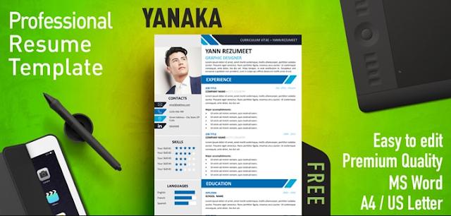 Download 9 Template CV Menarik Secara Gratis
