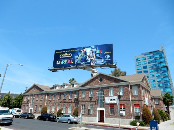 UnREAL season 2 TV billboard
