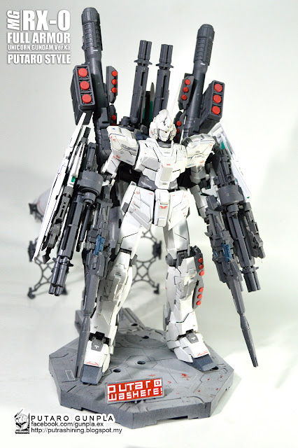 MG 1/100 RX-0 FULL ARMOR UNICORN GUNDAM Ver.Ka by Putra Shining [PART 02] PUTARO GUNPLA