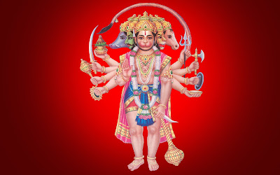 108 Names Of Hanuman