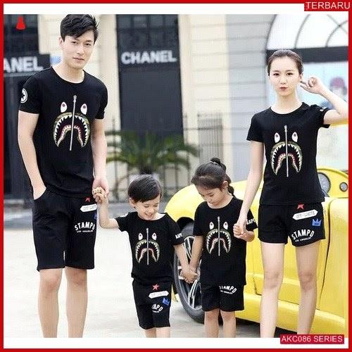 AKC086F97 Family Couple Baju Anak 086F97 Kaos Couple BMGShop
