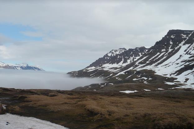 fiordo orientale di Mjóifjörður in Islanda