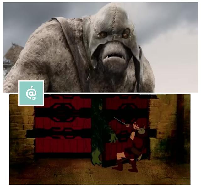 Trolls - El Señor de los Anillos: Peter Jackson Vs Ralph Bakshi - JRRTolkien - ÁlvaroGP - el fancine - el troblogdita