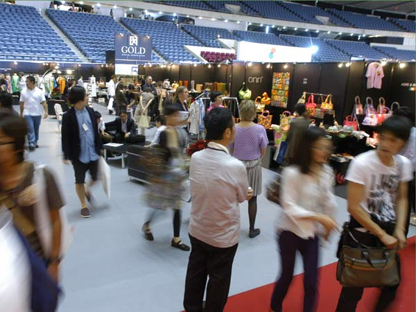 Rooms (Fashion Trade Fair) at Yoyogi National Stadium 1st Gymnasium, Tokyo