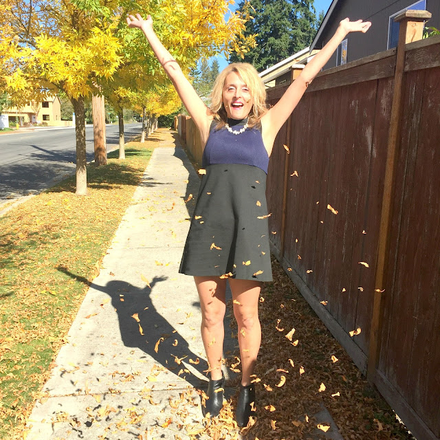 BCBG: A fabulous fall frock