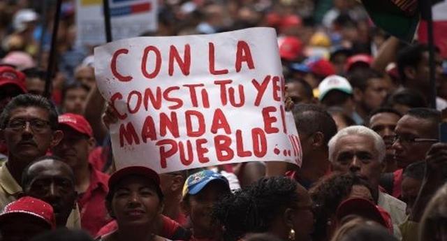 Masivo respaldo a Constituyente fortalece Revolución venezolana