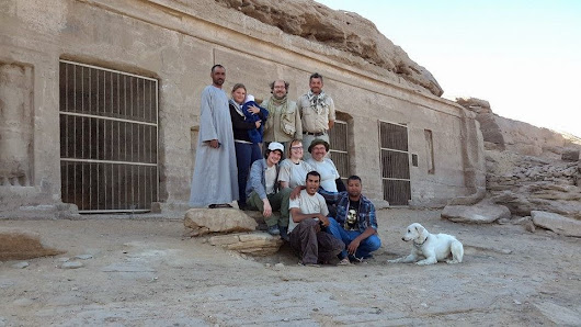 Six NK Statues and Intact Relief Scenes Discovered in Gebel el Silsila!