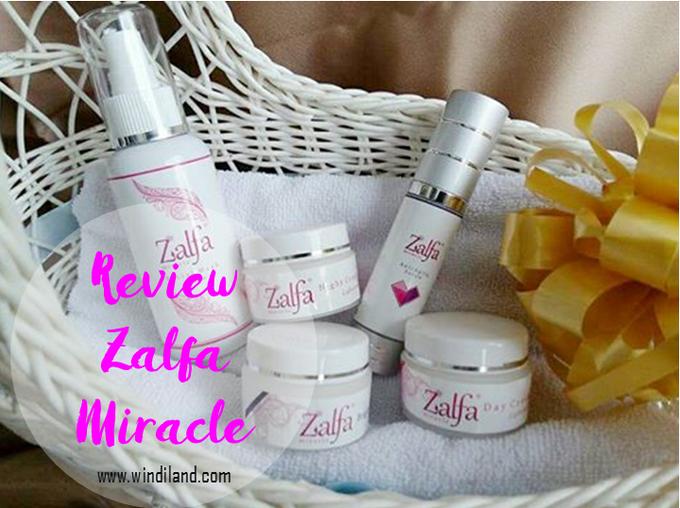 Review Zalfa Miracle, Kosmetik Halah