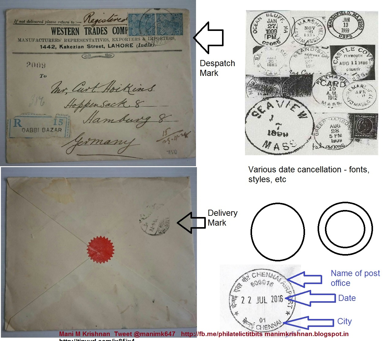 Postmark date