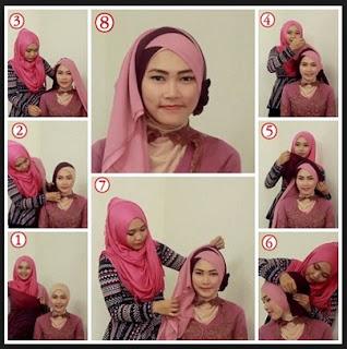 Cara memakai hijab untuk perpisahan sekolah