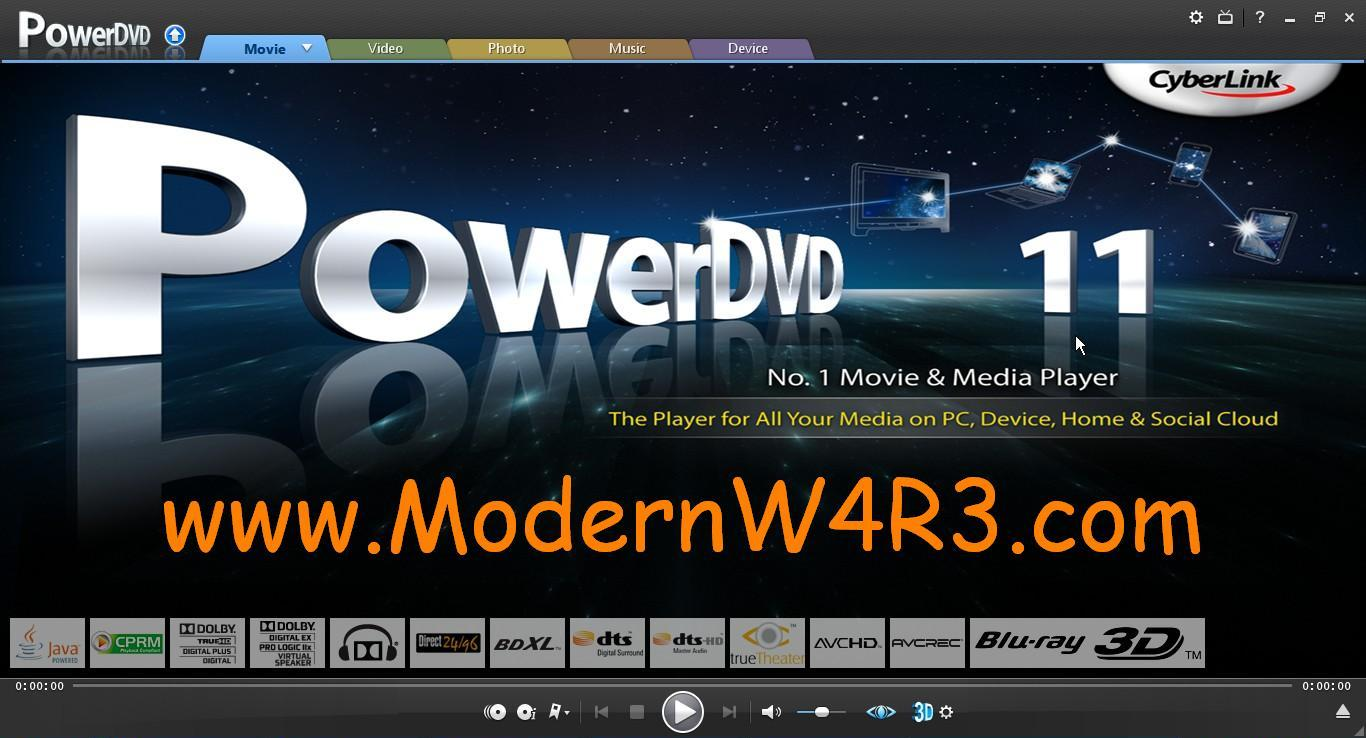 Cyberlink powerdvd 18 ultra crack and serial key free download.