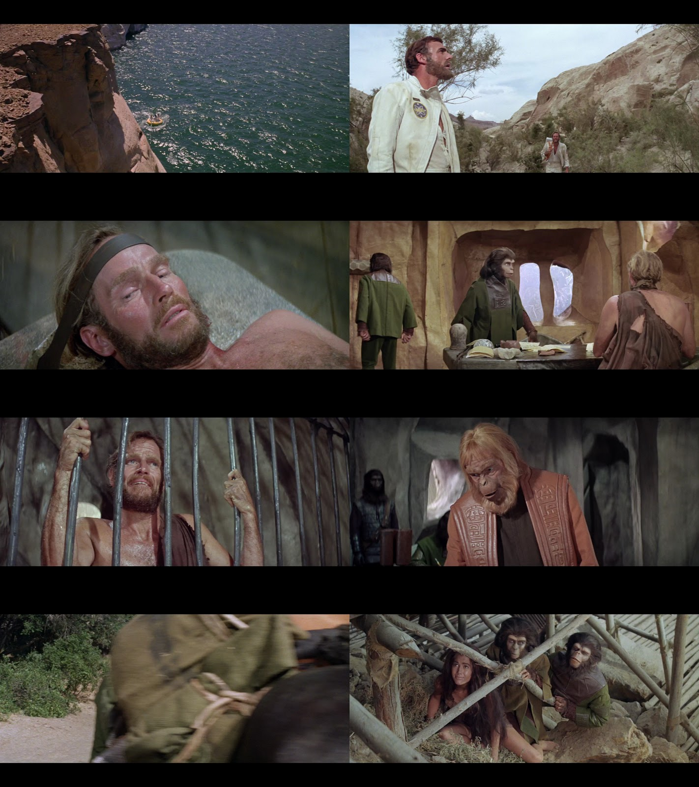 Resultado de imagen para El Planeta de los Simios (1968) captura