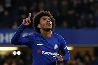 Barcelona make third bid for Chelsea's Willian