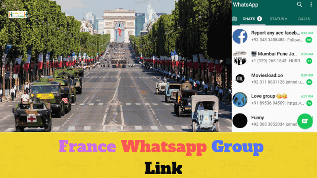 87+ Best France Whatsapp Group Link List Collection