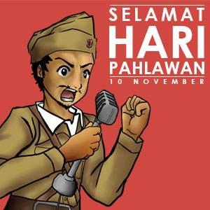 Contoh Kata Kata Dan Gambar Hari Pahlawan 10 November Dan