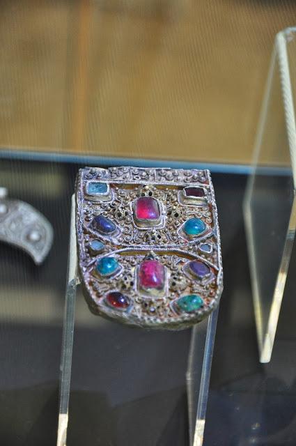 Staré Město, Uherské Hradiště Muzeum na Valach - okucie pasa wielkomorawskie