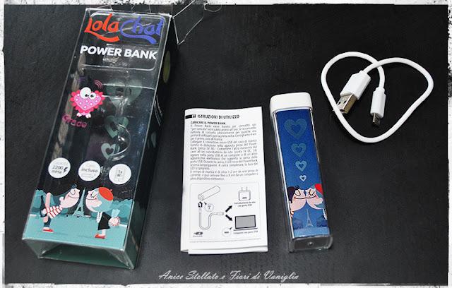 Lola Chat collaborazione powerbank 2