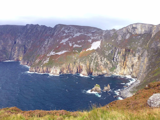 Food Festival and Amazing Cliffs. Donegal Day 1