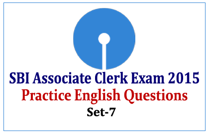Practice English Questions for SBI Exams