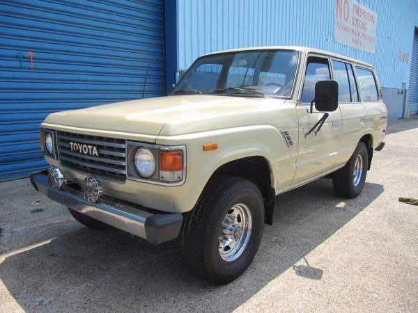 West Coast Car, 1983 Toyota Land Cruiser FJ60