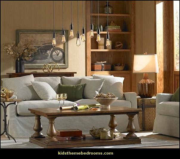 appealing industrial chic living room decor | Decorating theme bedrooms - Maries Manor: Industrial style ...
