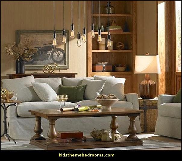 Industrial Bedroom Decor: Maries Manor: Industrial Style