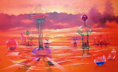 Pinturas Modernas Futuristas Arte Pedro Cabrera