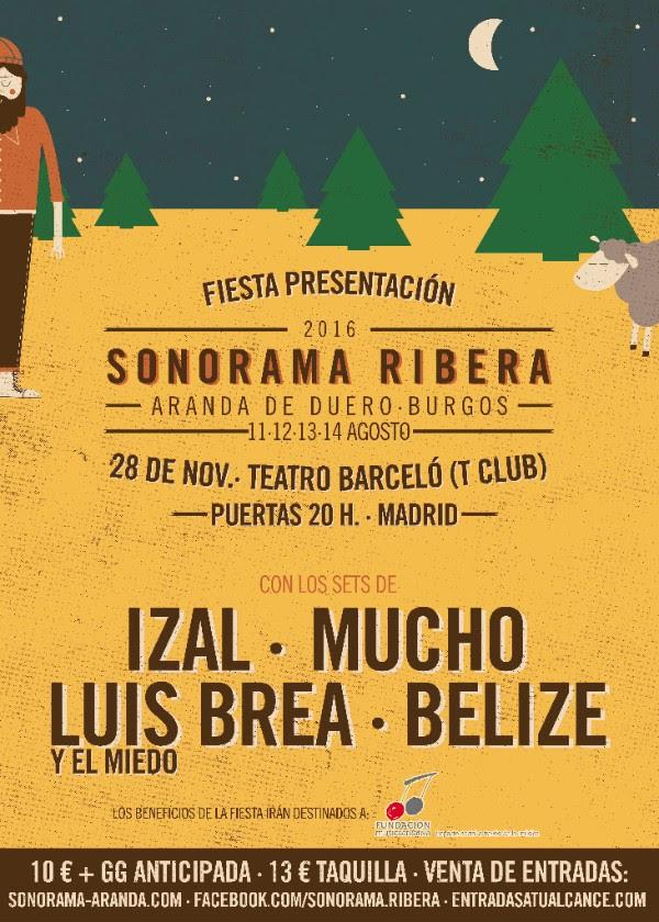 29acda43b Llega la Fiesta de presentación del Sonorama Ribera 2015