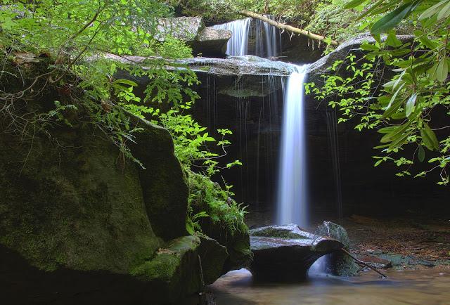 Tennessee Waterfall, Pickett State Park