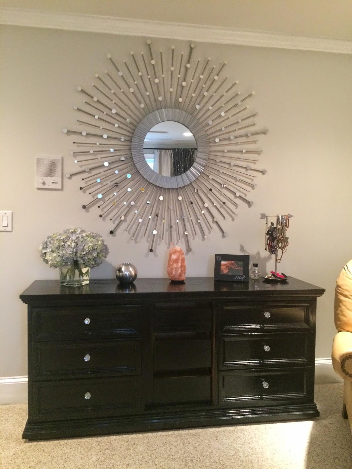 DIY Sunburst Mirror: Stacey's DIY Sunburst Mirror