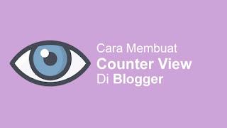 Cara Membuat Counter View Real Time Firebase di Blog