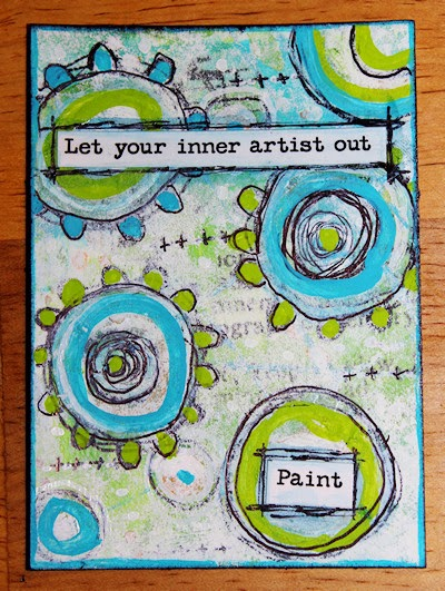 Let Your Inner Artist Out by Tori Beveridge