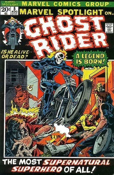 Marvel Spotlight #5 comic cover 1st appearance Ghost Rider
