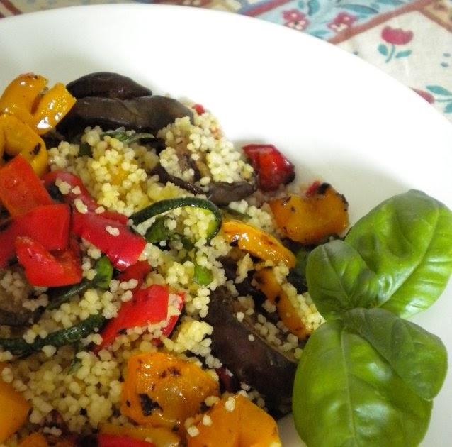 A casa nostra ci piace cucinare cous cous freddo con for Cucinare vegetariano