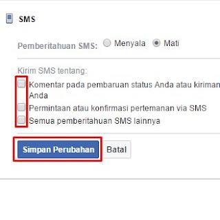 cara berhenti sms facebook 32665 AF