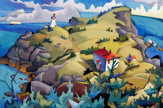 Канадский художник. Barry Coombs 19