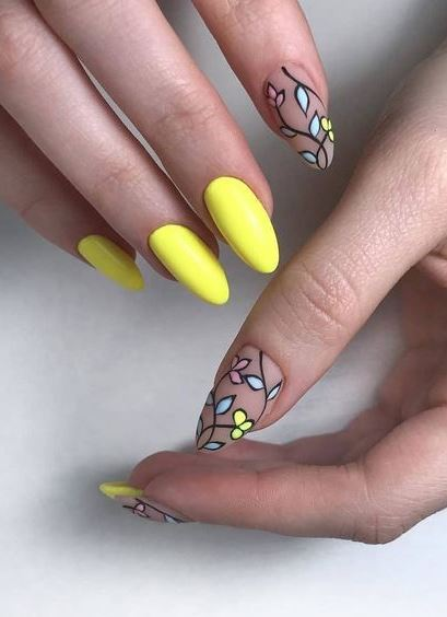 best summer nail art design idea