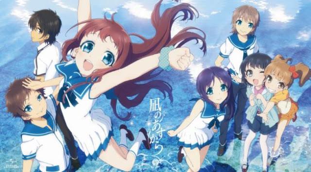 Nagi no Asukara (A Lull in the Sea) - Best Fantasy Romance Anime list