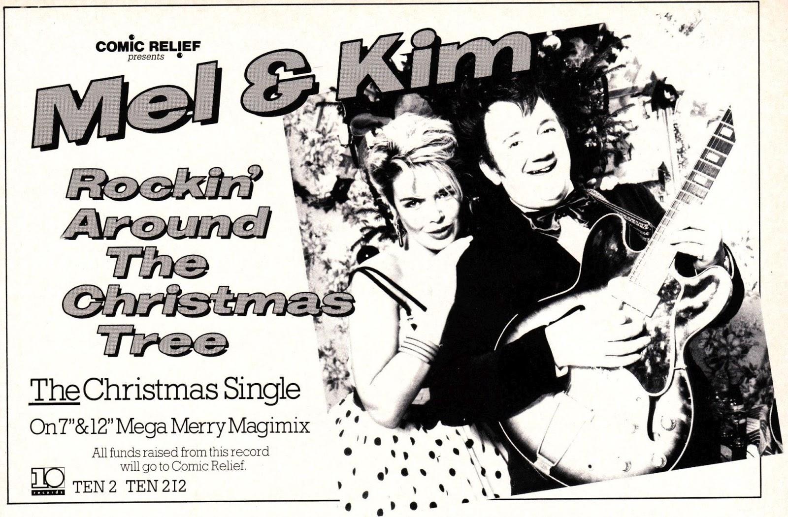 Top Of The Pops 80s: Kim Wilde & Mel Smith - Rocking Around The ...