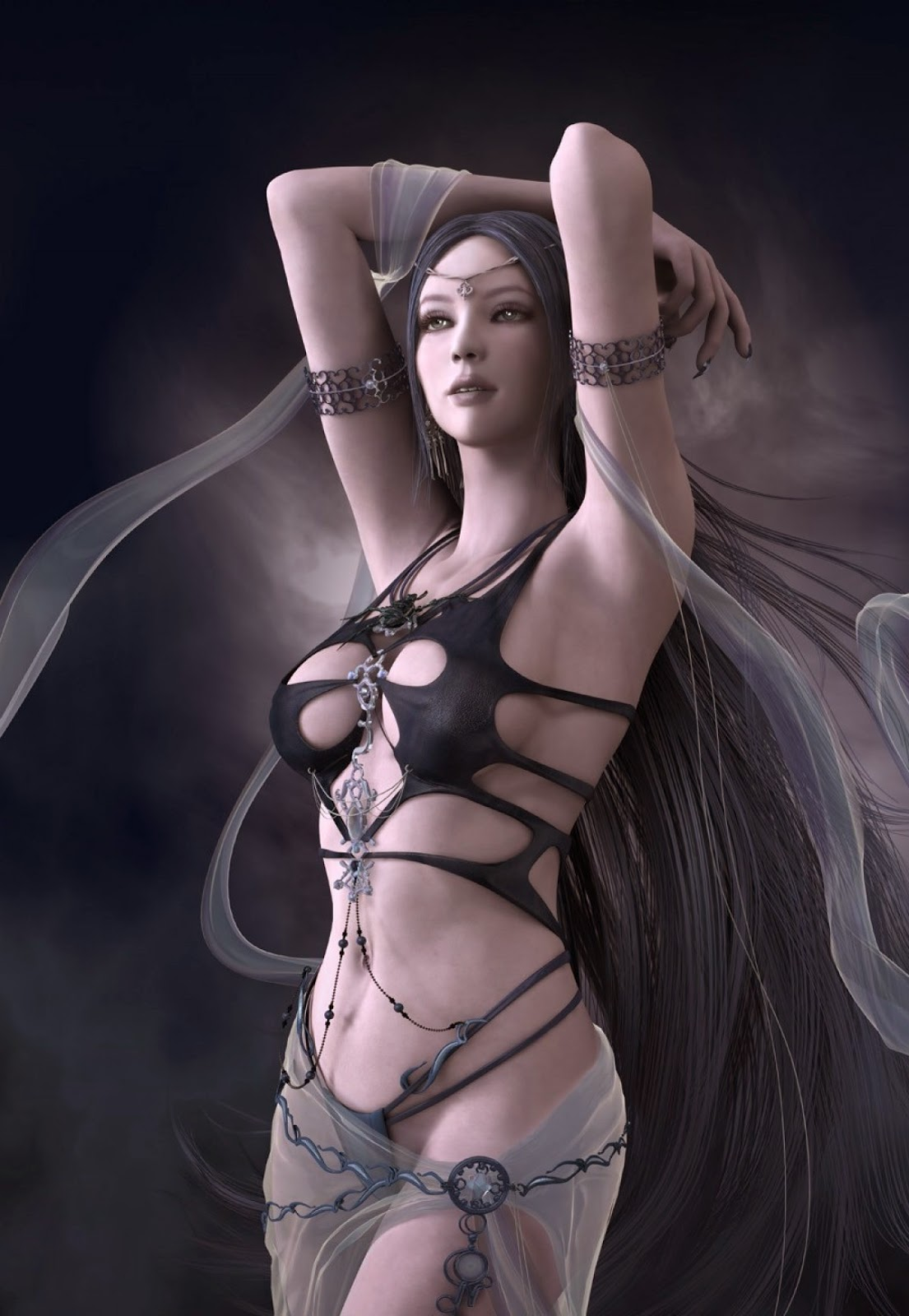 Shaiya Goddess Of Darkness (Black)