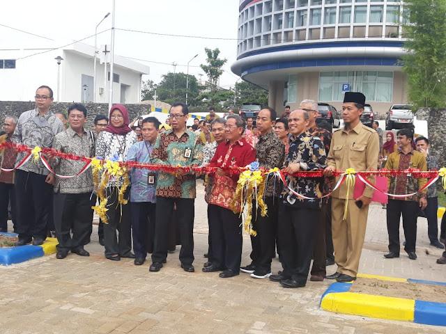 Rumah Dinas KPP Prabumulih Diresmikan oleh Kakanwil