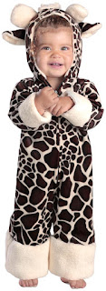 Boys Baby Giraffe Infant Costume for Halloween