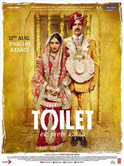 Toilet Ek Prem Katha 2017 Hindi 270MB Mobile Download at movies500.me