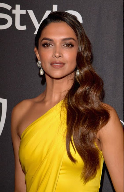 Deepika Padukone at 2017 Golden Globes InStyle's after party