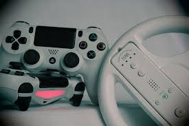 gamepad and joystick