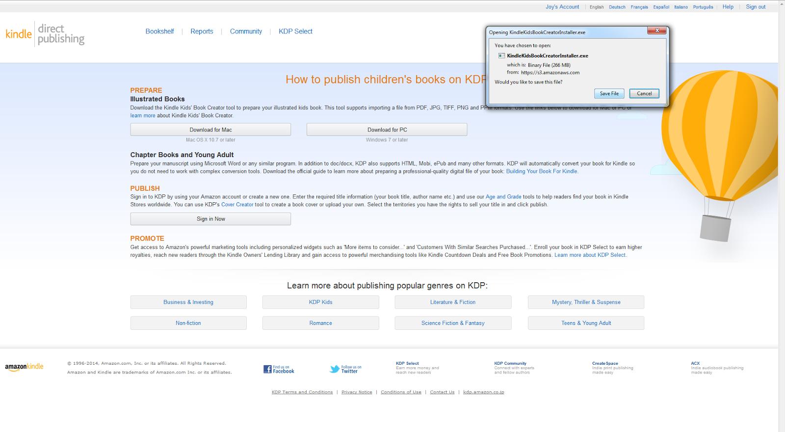 Confessions of a Kiwi Self-Publisher : Kindle Kids' Book Creator - A
